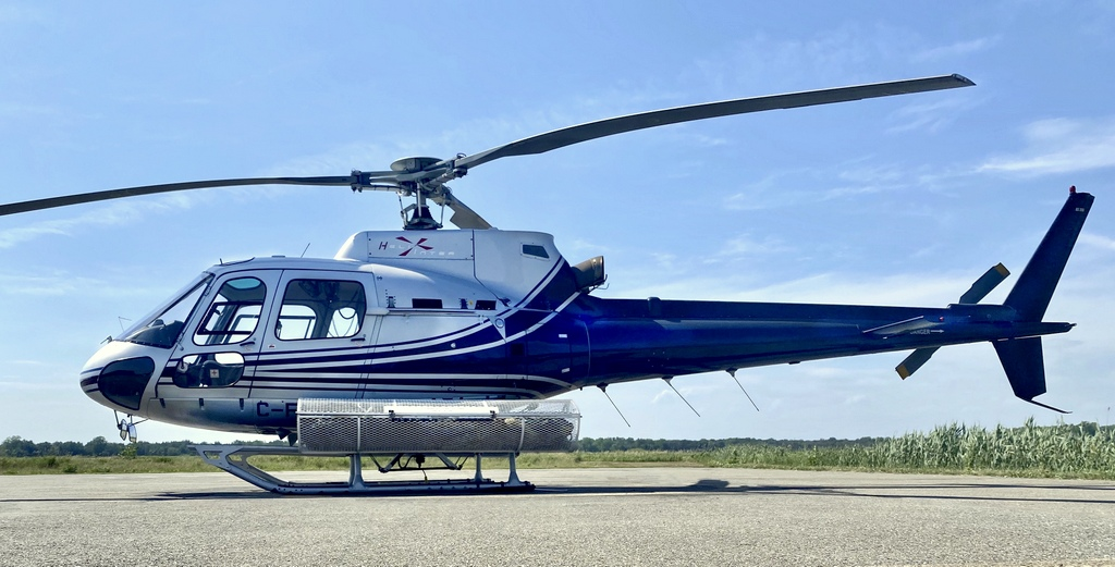eurocopter airbus helicopter as350 a-star astar helicopter montreal helicraft